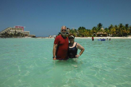 Villa del Palmar Cancun Beach Resort & Spa : Playa Norte on Isla Mujeres.