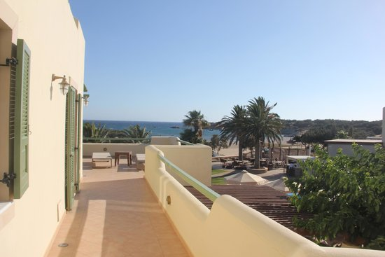 Finikas Hotel Naxos: The terrace from the Finikas Suite