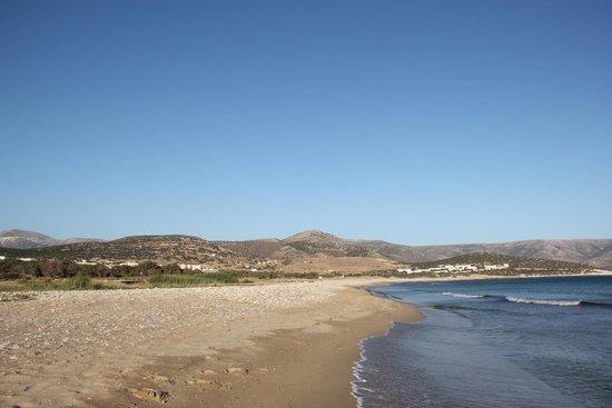 Finikas Hotel: The Finikas beach.... deserted