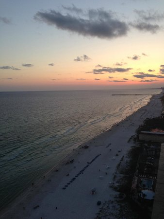 Majestic Beach Towers: Looking West