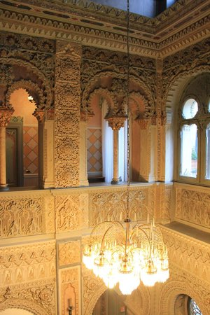 Villa Crespi : The beautiful details of the moorish architecture