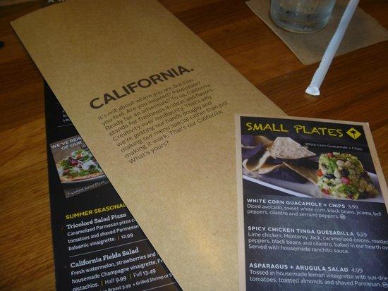 California Pizza Kitchen : Buena relación calidad-precio