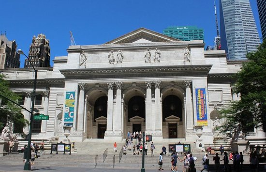 CityRover Walks NY : The public library and the interesting men who built it