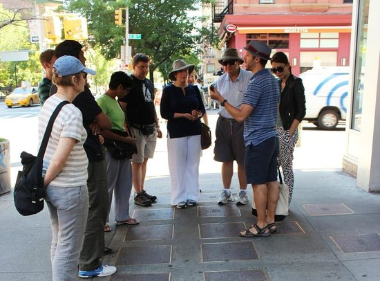 CityRover Walks NY: Walk of Fame for Yiddish theatre