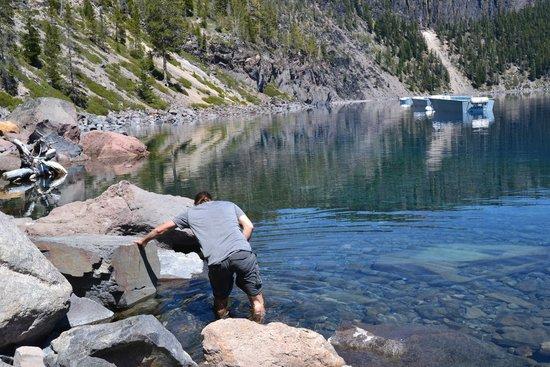 Crater Lake National Park: At the lake