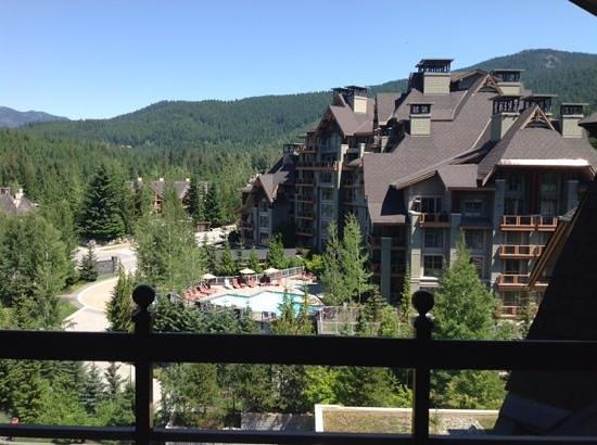 Four Seasons Resort and Residences Whistler: View from Balcony
