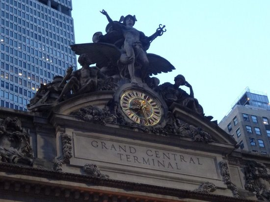 Grand Central Terminal: 摩天楼の中に
