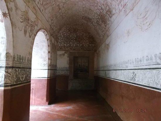 Ex Convento Dominico de la Natividad: Pasillo del ex convento
