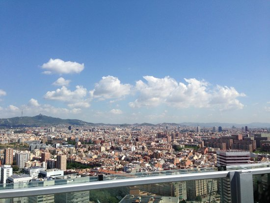 Renaissance Barcelona Fira Hotel: View from the roof top