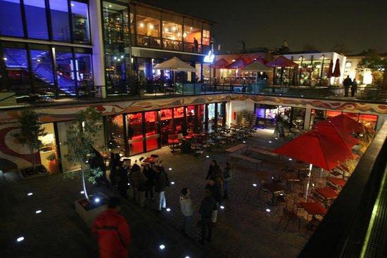 Patio Bellavista: É um lugar muito bom para curtir a noite...