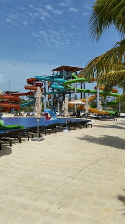 Royalton White Sands Resort: Water Slides