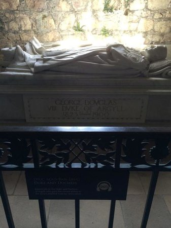 Iona Abbey: Last resting place Duke and Duchess of Argyll