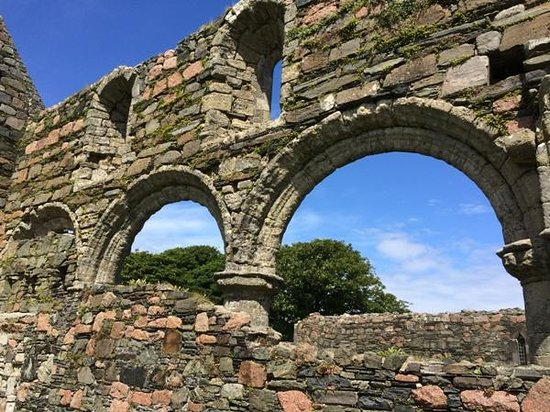 Iona Abbey: View at Nunnery