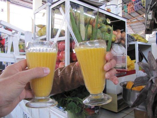 Mercado Central de San Pedro : Recomiendo jugo de frutas frescas!