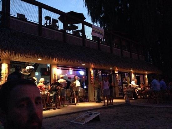 Anchor Inn And Marina : Live music at the Tiki Bar