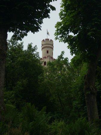 Schloss Marksburg: Marksburg Castle looking up from Braubach