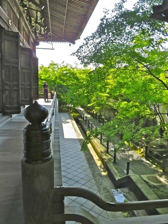 Eikan-dō : Walkway around the temple