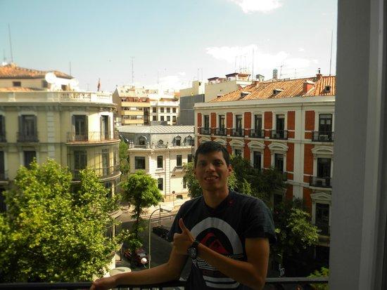 U Hostels: Desde el balcón de la hab del hostel