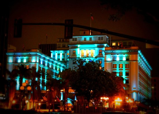 THE US GRANT, a Luxury Collection Hotel, San Diego : Lovely night view of US Grant