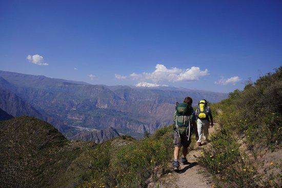 Cotahuasi River Canyon : aventureros en cotahuasi