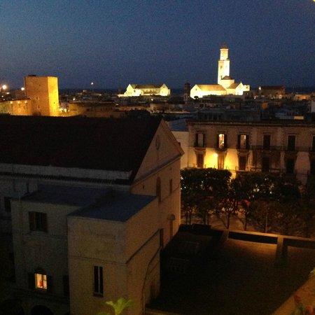 Palace Hotel: Вид на старый город с ресторана-террасы на 7 этаже