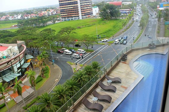 Acacia Hotel Manila: View from the Room