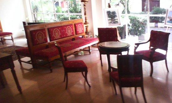 Palace Hotel: Холл