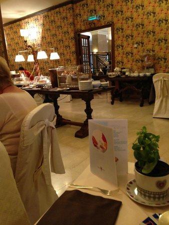 Palace Hotel: Ресторан для завтраков