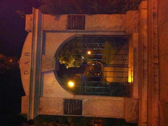 Ghost City Tours: front gate of colonial park cemetery