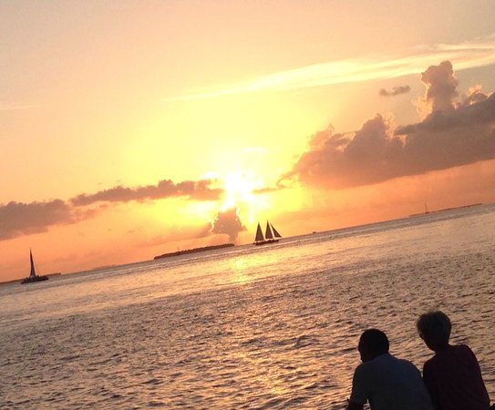 Fort Zachary Taylor Historic State Park: Sunset at Ft Zach