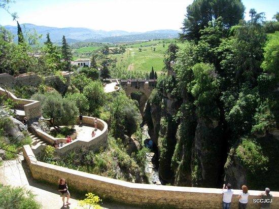 jardines de cuenca garden picture of el tajo ronda