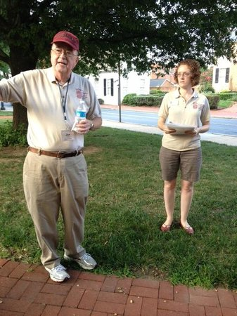 Historical Society of Frederick County: Joe and Kristin, our Tour Guides