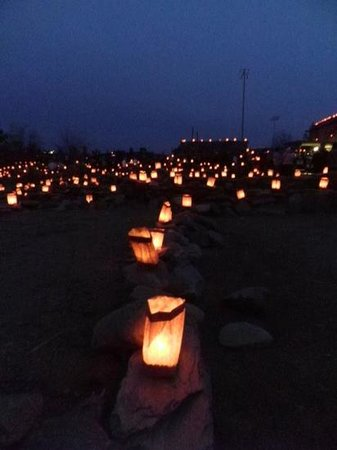 Besh Ba Gowah: Luminaria display every year on the Sunday before Christmas