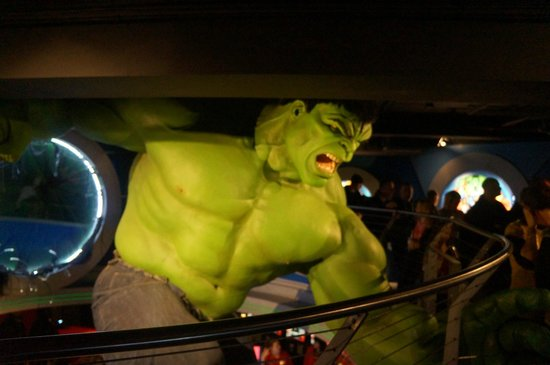Madame Tussauds London: Hulk