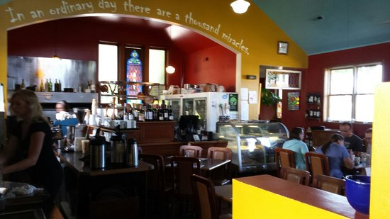 The Yellow Church Cafe : kitchen area