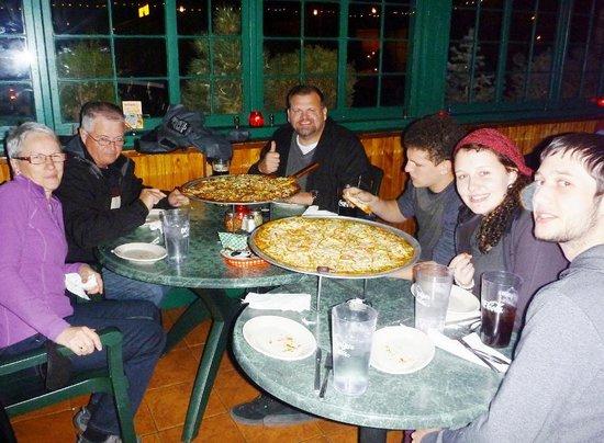 Oregano's Pizza Bistro : Now that's a pizza!