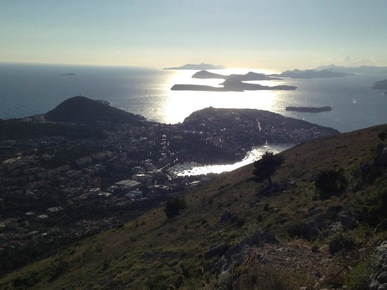 Funiculaire de Dubrovnik : islands to the north
