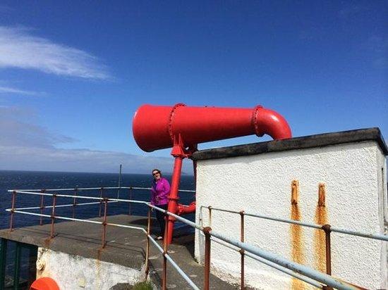 Ardnamurchan Point and Lighthouse: Original Foghorn