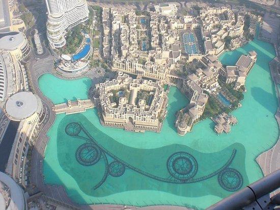 Burj Khalifa: 展望階屋外