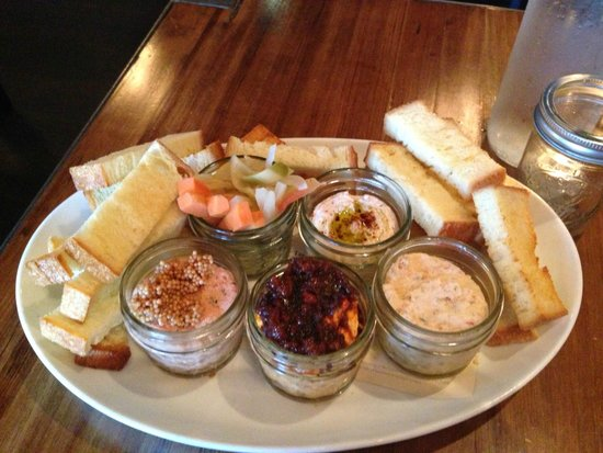 Empire State South: In Jars Appetizer from Sept 13 visit for Dinner