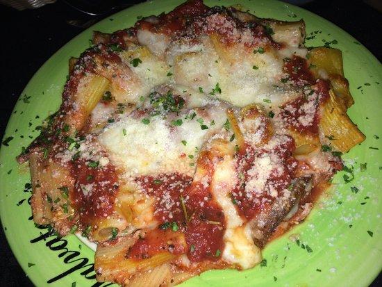 Salvatore's Italian Restaurant: Baked Rigatoni