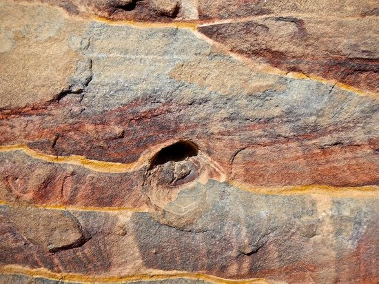 Movenpick Resort Petra : rock formation in Petra