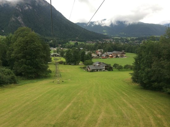 Jenner Bergbahn: A view from the trolley