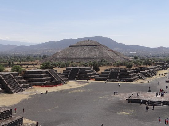 Pyramid of the sun!