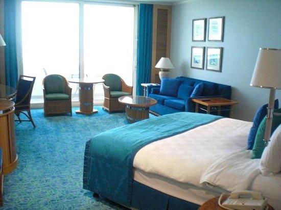 Jumeirah Beach Hotel : 広い部屋