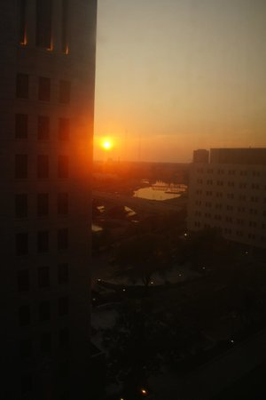 DoubleTree Suites by Hilton Hotel Columbus Downtown: Beautiful sunset from room
