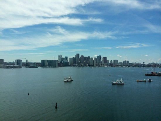 Hyatt Regency Boston Harbor : View from 1415