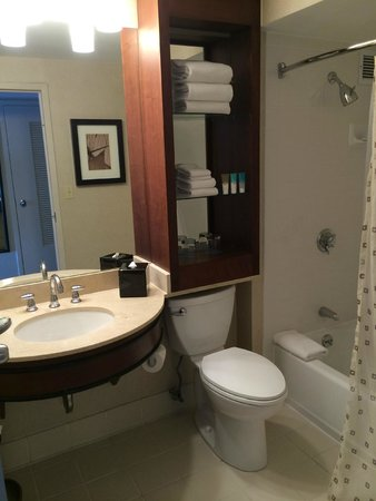Hyatt Regency Boston Harbor : Small bathrooms