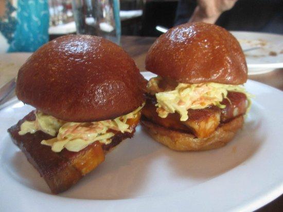 Animal: Barbeque pork belly sandwiches