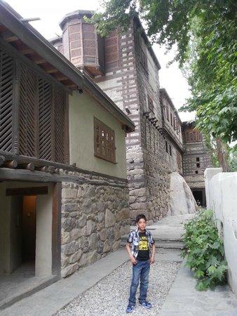 Serena Shigar Fort : Shigar Fort Entrance